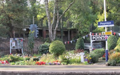 The Gardens at Poynton Railway Station