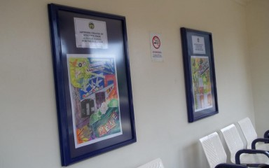 Artwork created by students from Alsager School
