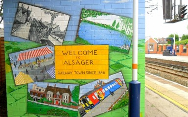 Welcome to Alsager Railway Station