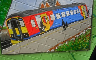 Community Mural - East Midland Trains