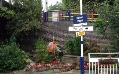 Volunteering at Holmes Chapel Station