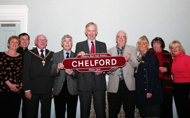 Cheshire Best Kept Station 2012