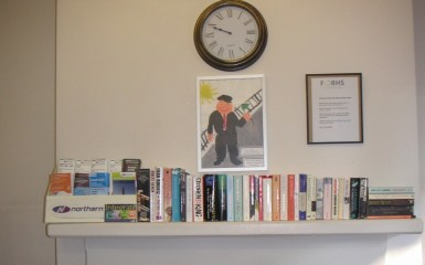 A Waiting Room Lending Library