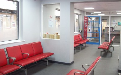 The Waiting Room at Warrington Bank Quay