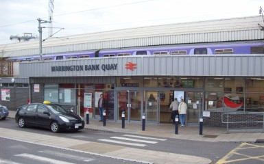 Warrington Bank Quay Railway Station